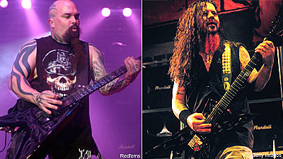 Slayer and Pantera