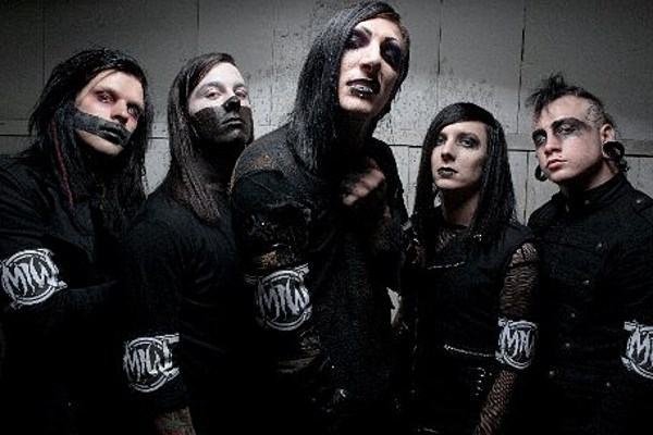 motionless in white vocalist thrilled by dee snider s comments about them. Black Bedroom Furniture Sets. Home Design Ideas