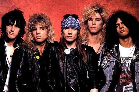 guns and roses original band members