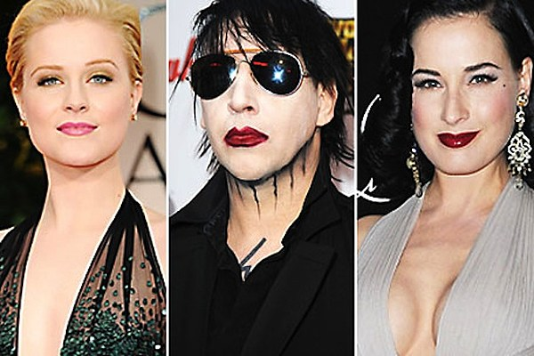 Who is marilyn manson dating now 2012. is it ok to kiss someone you're not dating.