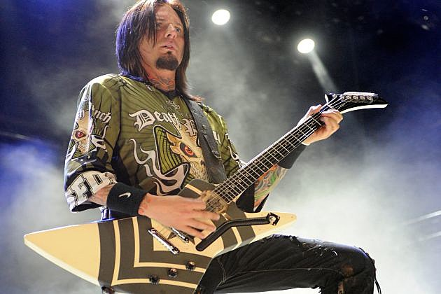 Five Finger Death Punch Jason Hook