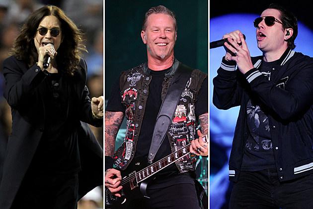 Black Sabbath Metallica Avenged Sevenfold