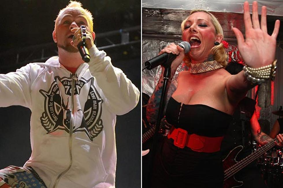 Five Finger Death Punch + Maria Brink Collaboration