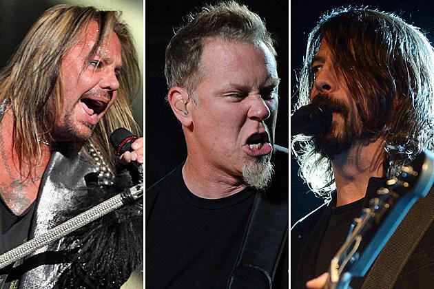 Motley Crue Metallica Foo Fighters