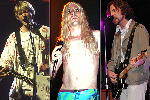 Nirvana Tool Pearl Jam