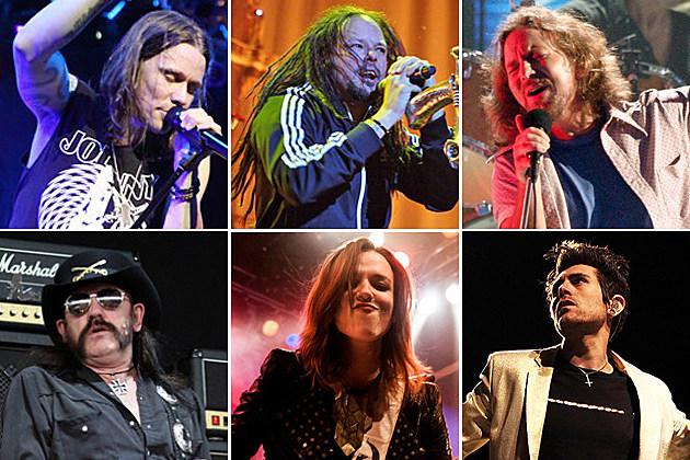 Alter Bridge Korn Pearl Jam Motorhead Halestorm AFI