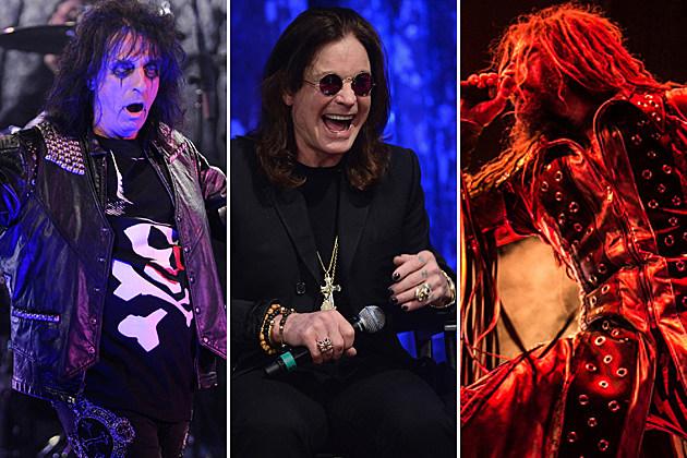 Alice Cooper Black Sabbath Rob Zombie