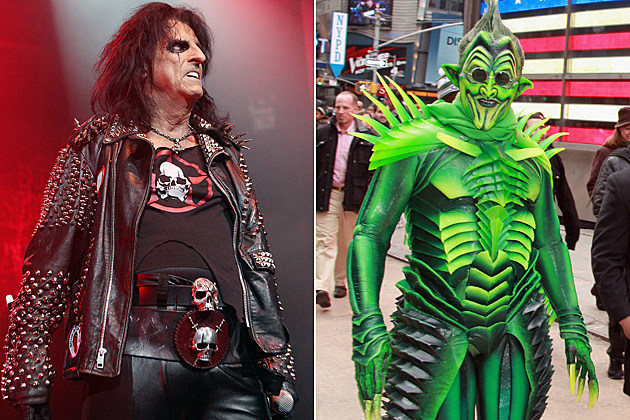 Alice Cooper-Green Goblin