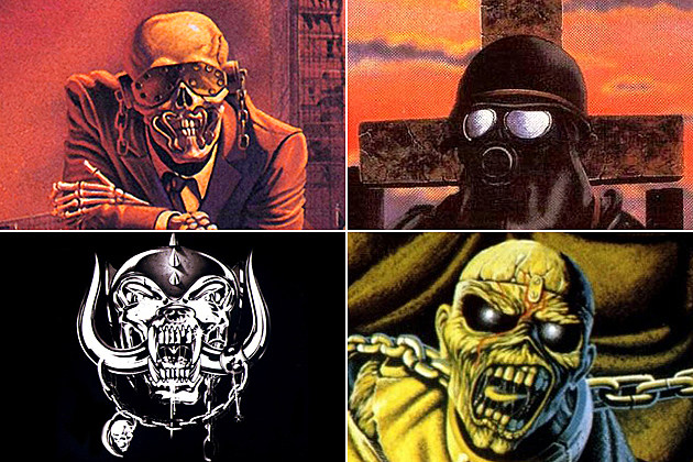 Metal Mascot Halloween Masks