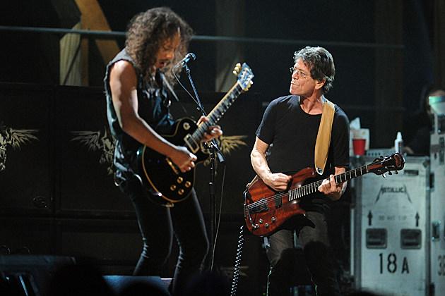Metallica Lou Reed