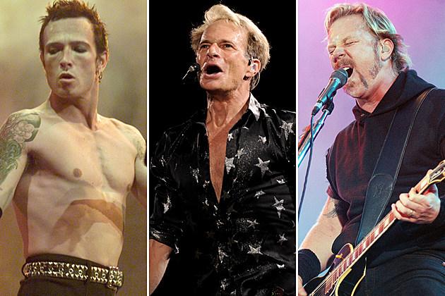 Stone Temple Pilots Van Halen Metallica