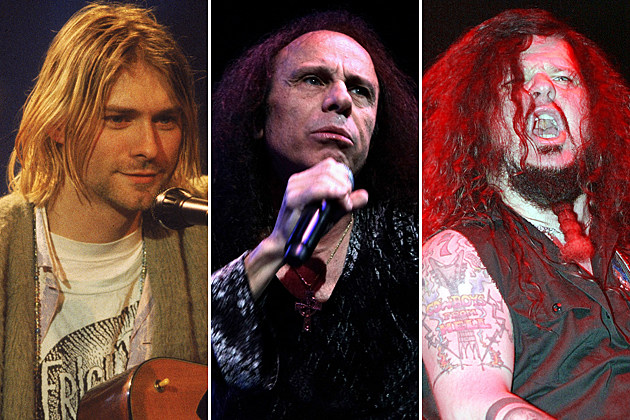 Kurt Cobain Ronnie James Dio Dimebag Darrell