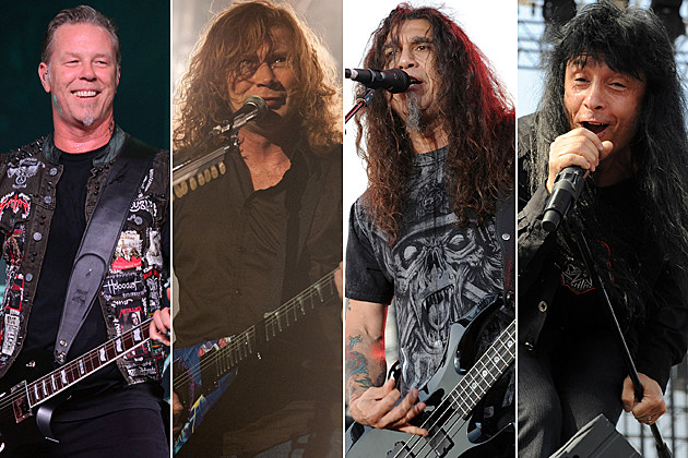Metallica Megadeth Slayer Anthrax