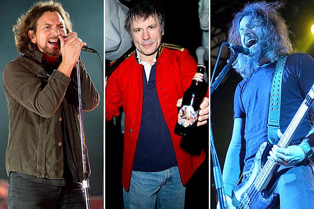 Pearl Jam Iron Maiden Mastodon