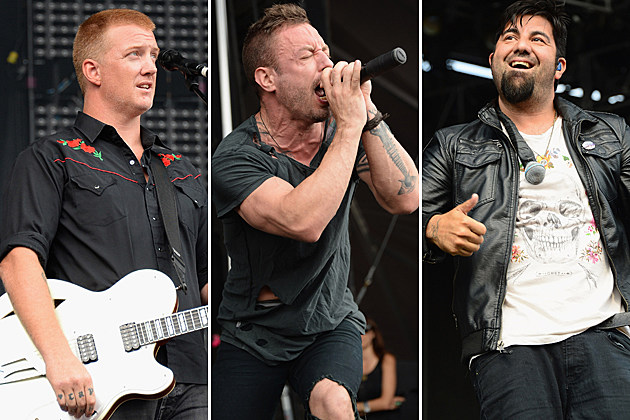 Queens of the Stone Age Dillinger Escape Plan Palms