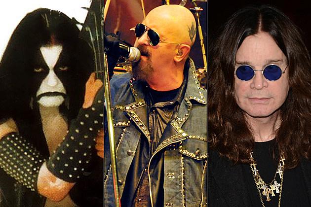 Abbath Rob Halford Ozzy Osbourne