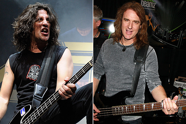 Anthrax Megadeth