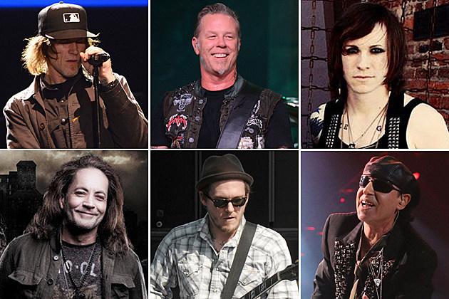 Mark Lanegan Metallica Against Me Red Dragon Cartel Gaslight Anthem Scorpions