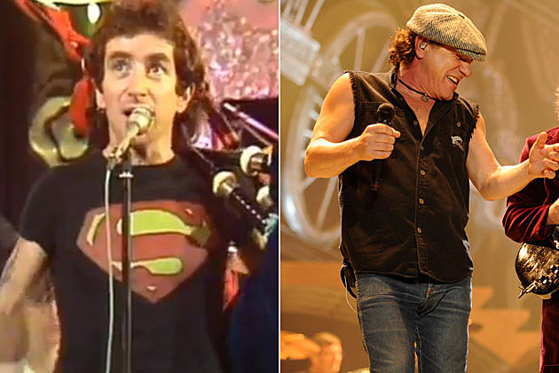 Bon Scott Brian Johnson