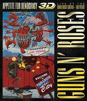Guns N' Roses Appetite for Democracy 3D