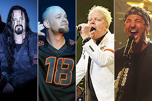 Evergrey Five Finger Death Punch The Offspring Godsmack